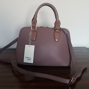 ♥️NWT Faux leather bag♥️